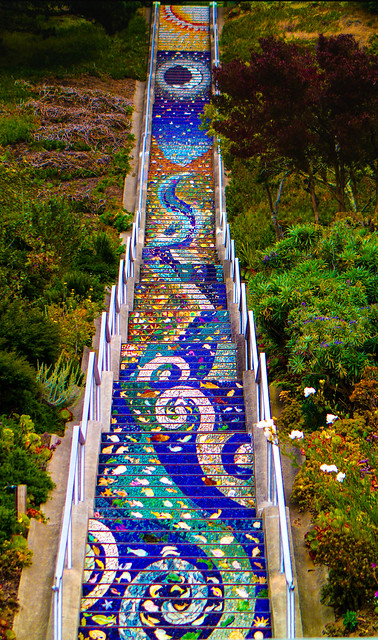 16th Ave Mosaic Steps