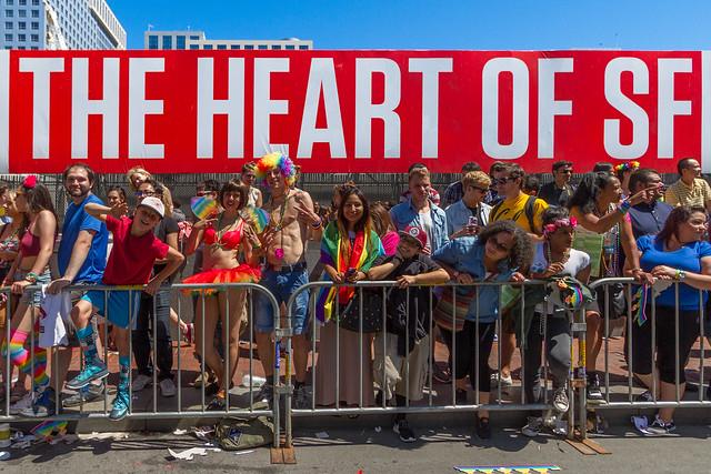 SF Pride Parade 2014: wind-ups experts