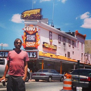 Geno's Steaks... Classic. Love the chaos of South Philly. | by runnr_az