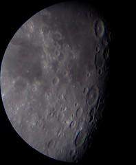 Moon Jul 13th, sunset at Langrenus and Petavius