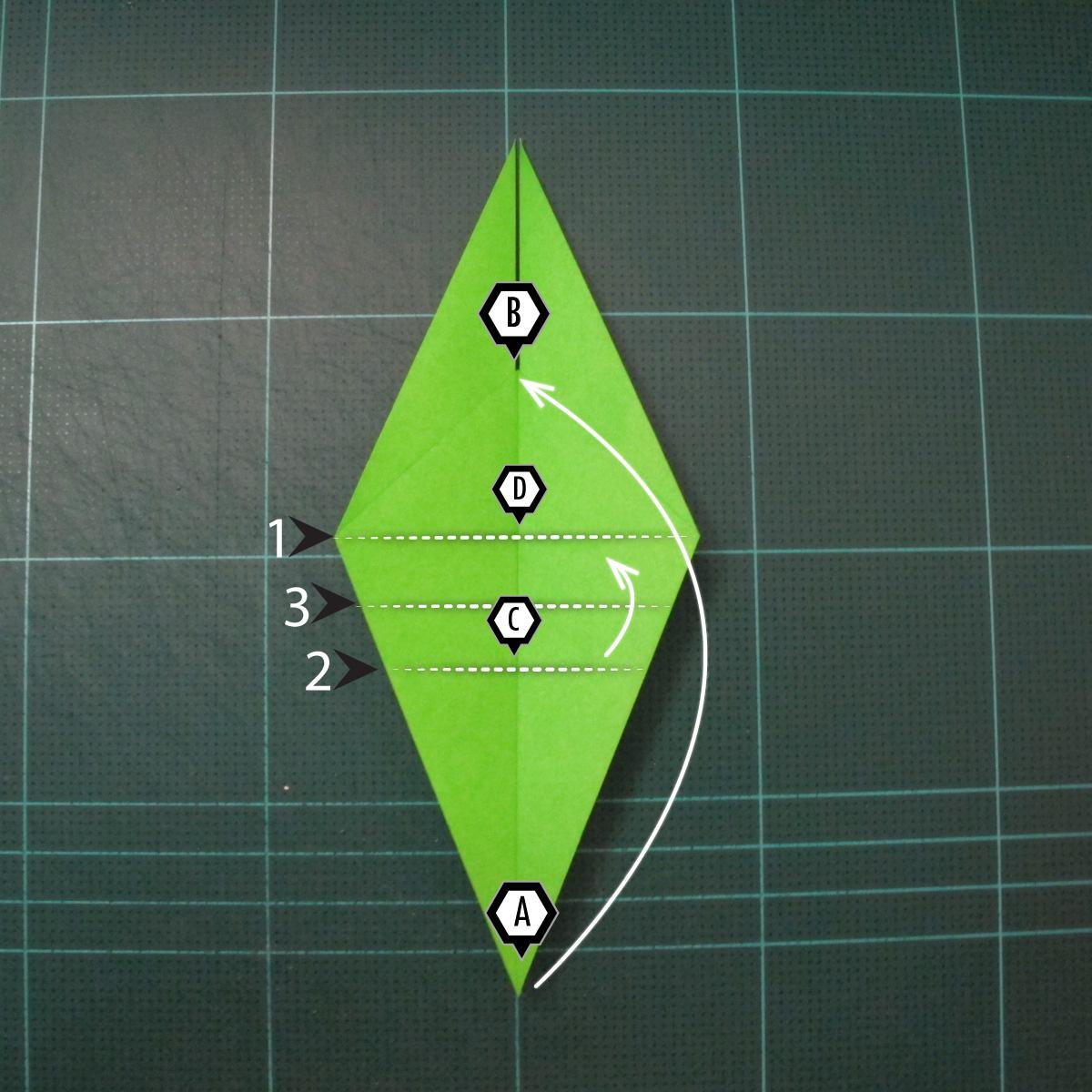 วิธีพับกระดาษเป็นรูปหอยทาก (origami Snail) 006