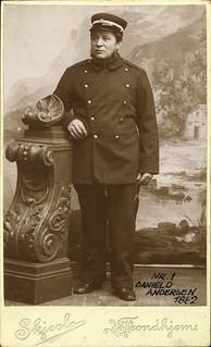Brannformann Daniel Andersen (1833 - 1906)
