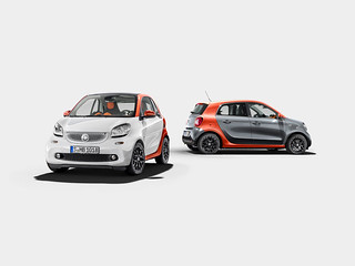 smart fortwo, C453, smart forfour W453