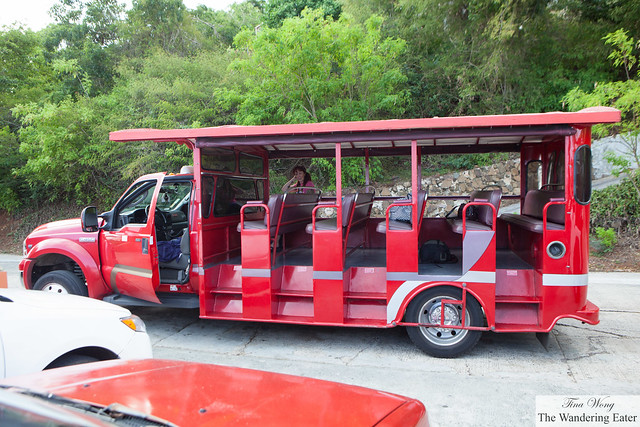One of our rides when traveling within St. Thomas