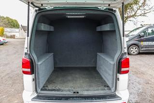 0c888debe6 VW Transporter T5 - Carpet Lining   LED Lights-2