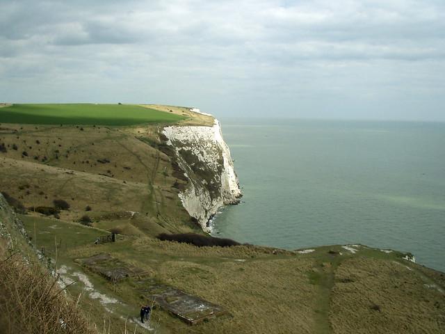 The coast north of Dover