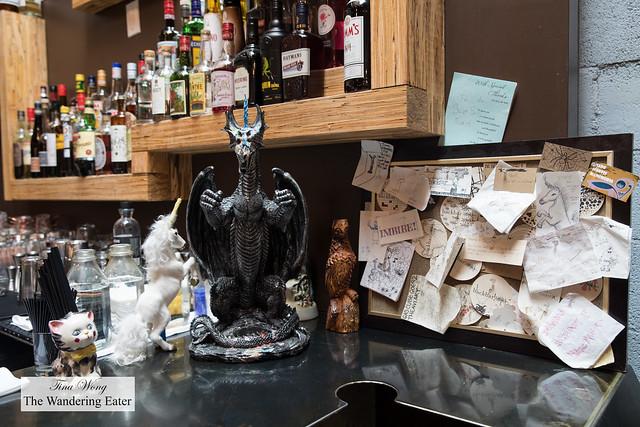 Details at the bar