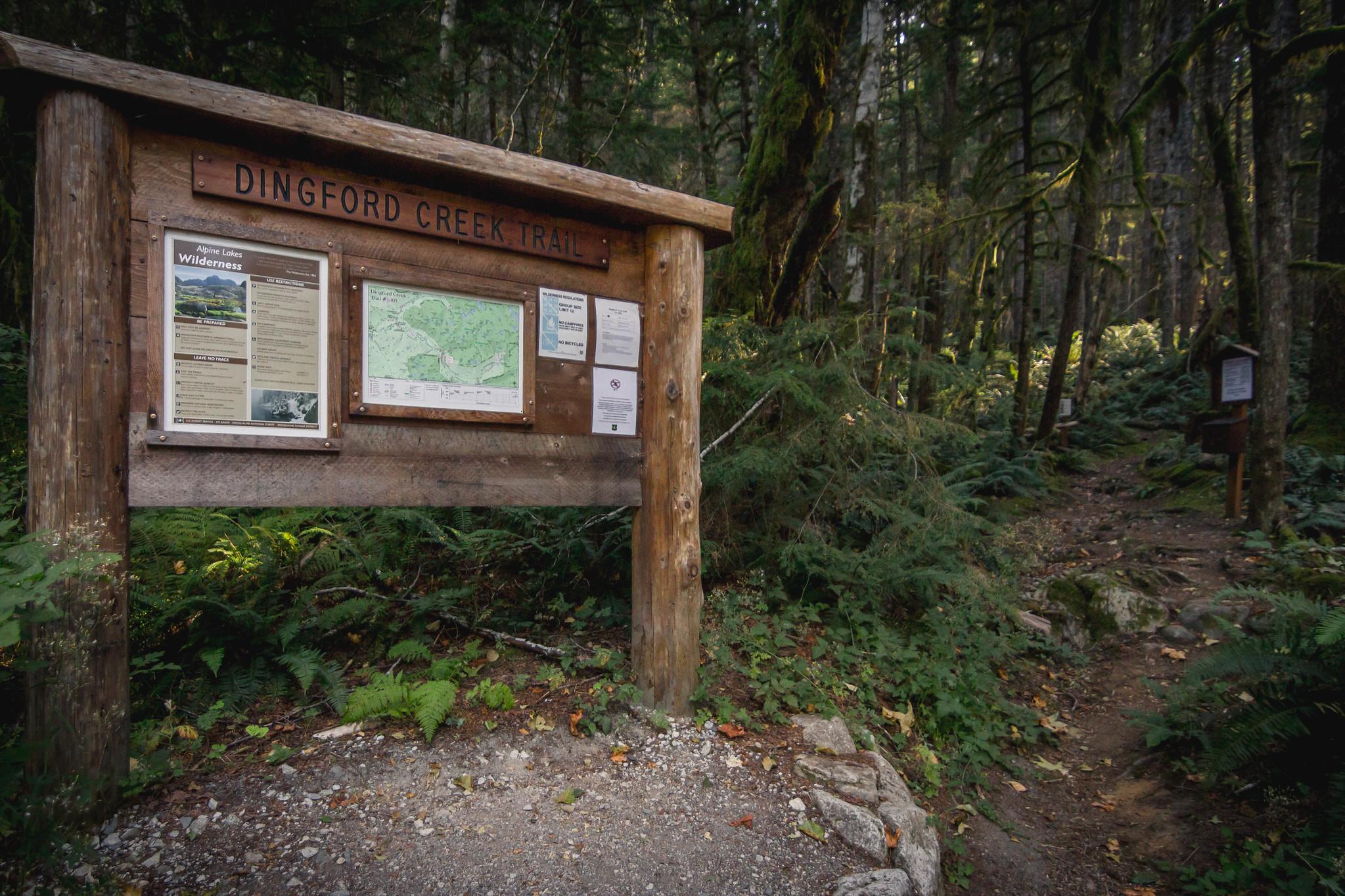 Dingford Creek Trailhead