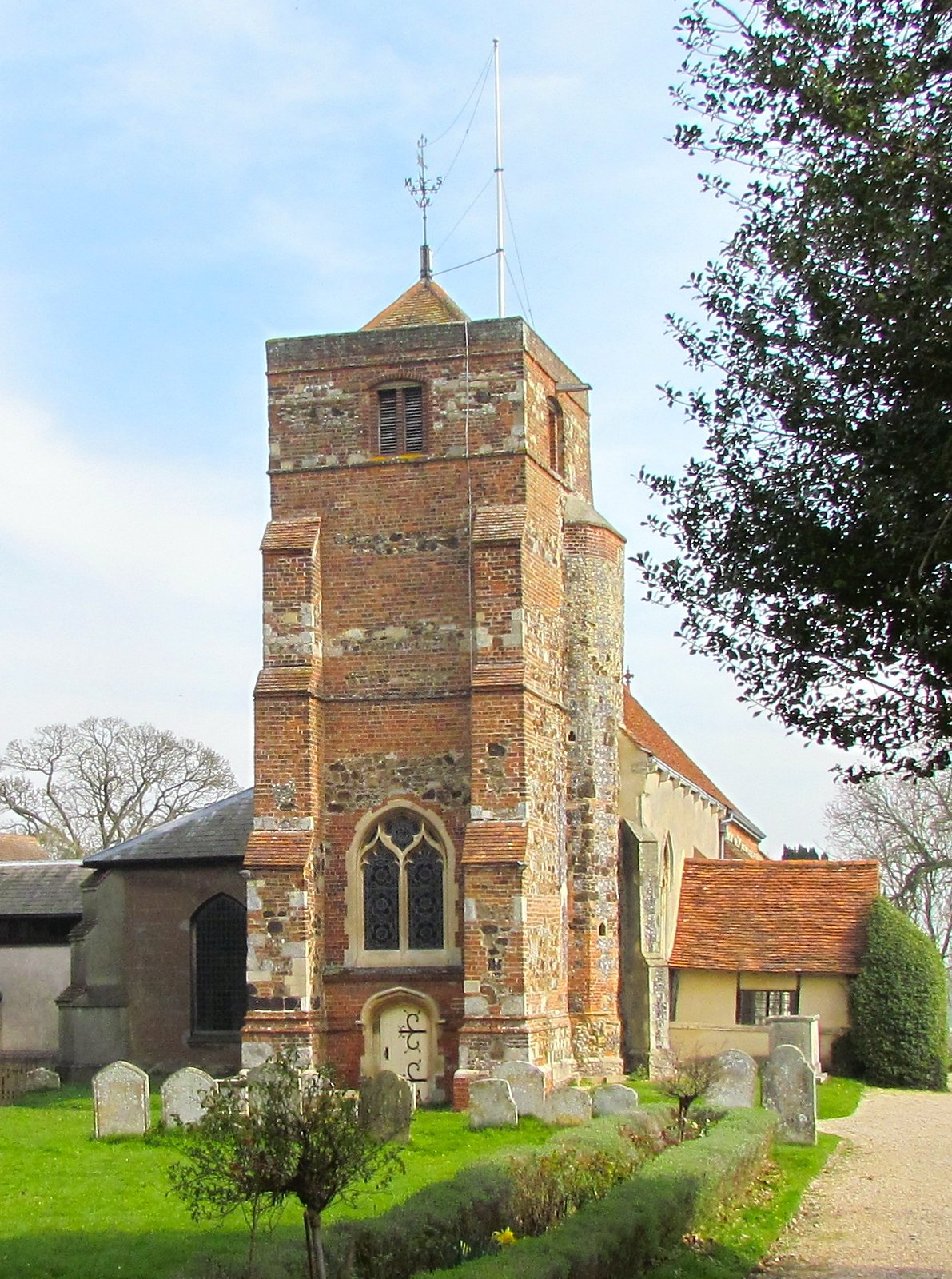 photo from walk St Mary's Church, Lawford