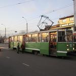 Transsibérien - Irkoutsk - Trams