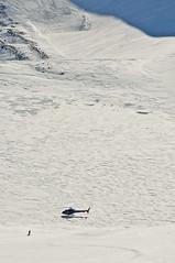 Čekající helikoptéra, cíl každé naší lajny