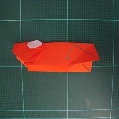 การพับกระดาษเป็นรูปปลาทอง (Origami Goldfish) 017