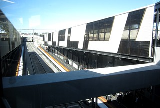 Ramps, new Springvale station, April 2014 | by Daniel Bowen