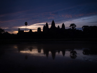 Reflection pool at Angkor Wat | by seasonal wanderer