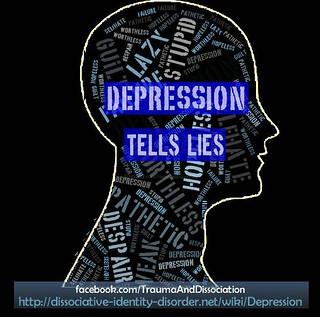Depression tells many lies! Trauma and Dissociation http ...