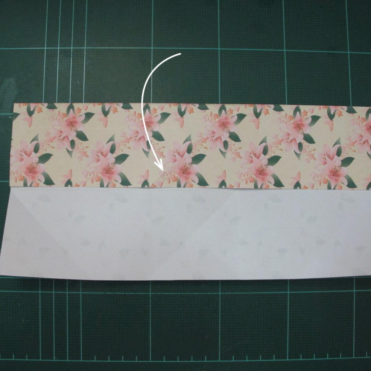 การพับกระดาษเป้นถุงของขวัญแบบไม่ใช้กาว (Origami Gift Bag) 005