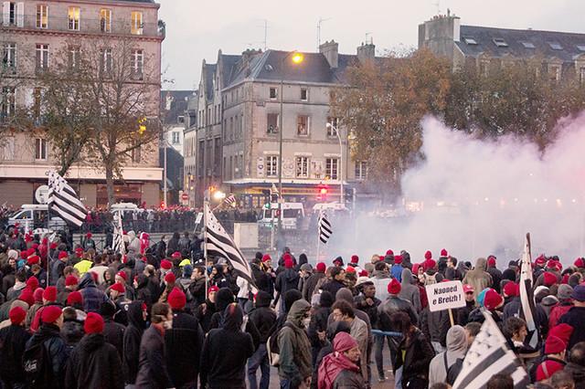 Manifestation des Bonnets rouges