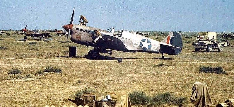 P-40, Nth Africa