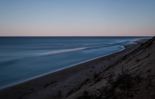 ocean longexposure sunset orange canon capecod dunes atlantic clear le cape truro nationalseashore longnook neutraldensity nd110 canon70d