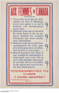 To the Women of Canada: Four recommendations / Aux femmes du Canada, quatre recommandations | by BiblioArchives / LibraryArchives