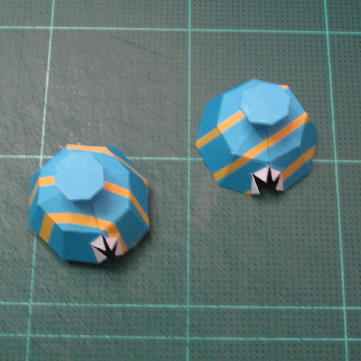 วิธีทำโมเดลกระดาษของเล่นคุกกี้รัน คุกกี้รสพ่อมด (Cookie Run Wizard Cookie Papercraft Model) 023