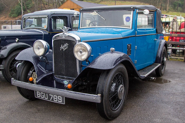 Brooklands Austin Morris Day 2017 - 1934 Austin 16/6 Tourer (BGU 789)