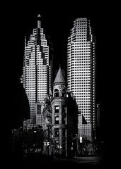 Gooderham Flatiron Building And Toronto Downtown No 2
