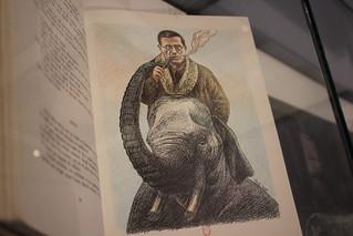L'Écume des jours, Roland Topor, illustration du livre de Boris Vian, A. Sauret, 1980 - Exposition Topor à la BnF