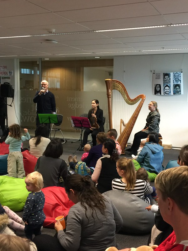 CSO ensemble, Upper Riccarton Library