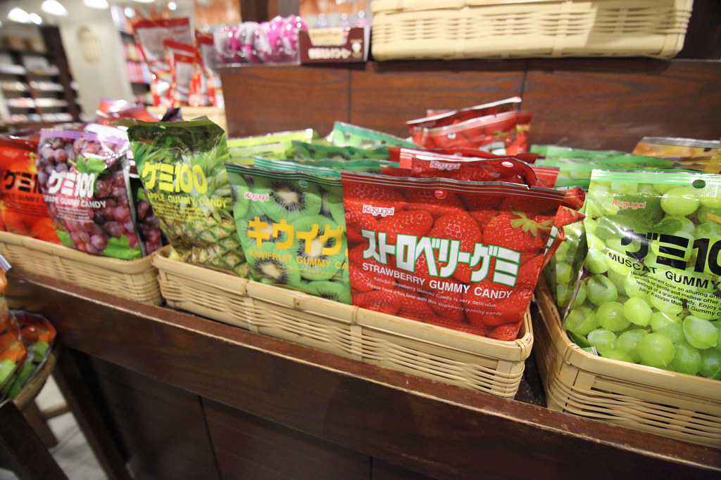 Gummy Candy Gummy Candy At Mitsukoshi Department Store In Flickr