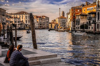 You and me, in Venice