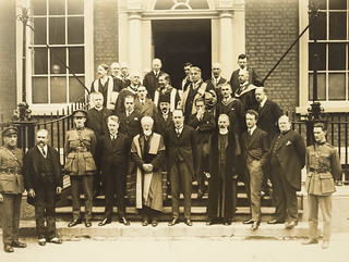 Tailteann Games Visitors at the R.I.A. 1924
