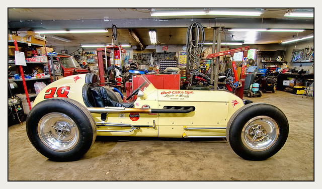 Fifties Style Indy Car