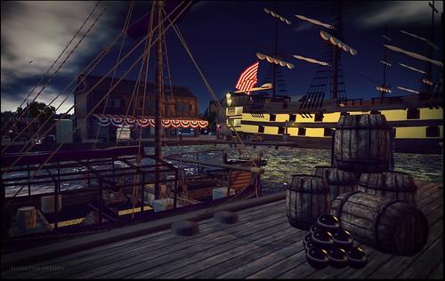 New World 18th Century Boston Harbour | by ellington.sweeney