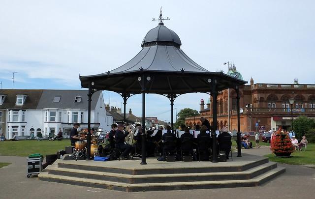 Taverham Band at Gorleston-on-sea