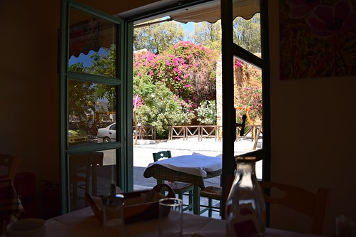 restaurant tostachi slowfood biofood food madewithlove window open table chania hania xania canea crete kriti kreta greece greek summer lunch hot