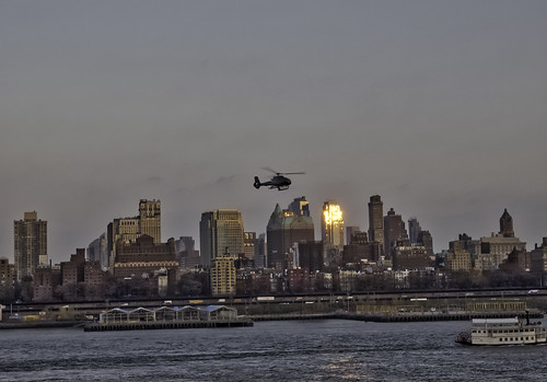 brooklyn cityscape harbor ny nyc newyork newyorkcity places skyline sunset water waterfront helicopter nycphotography outdoors photolemur