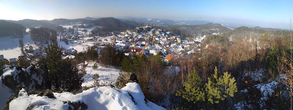 View On Hartenstein From Hirtenberg Nürnberger Land Flickr