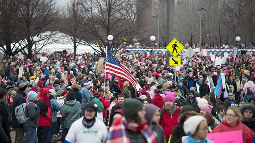Minnesota women's march against Donald Trump | by Fibonacci Blue