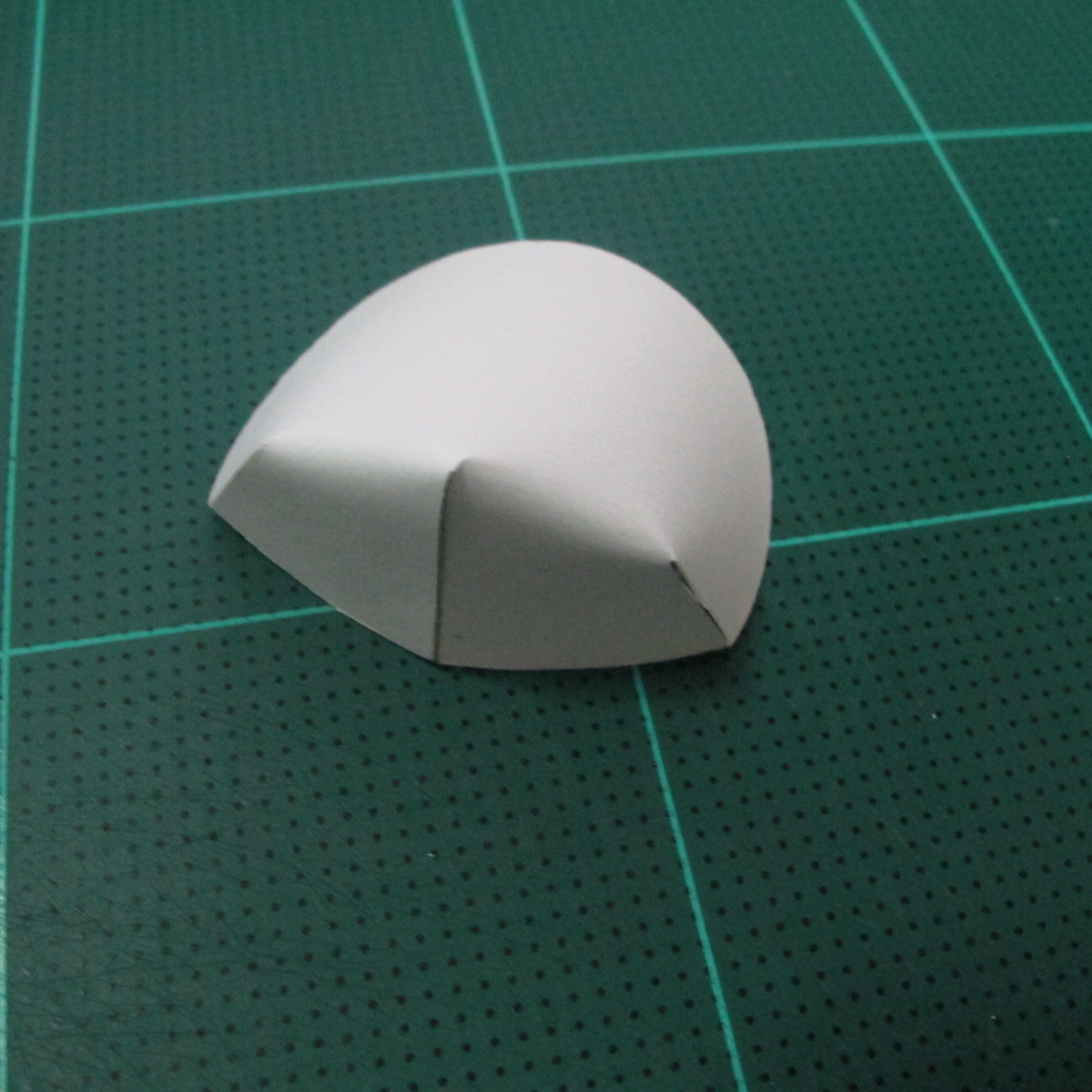 วิธีทำโมเดลกระดาษรูปเต่าทองแบบง่ายๆ (Easy Ladybug Papercraft Model) 003