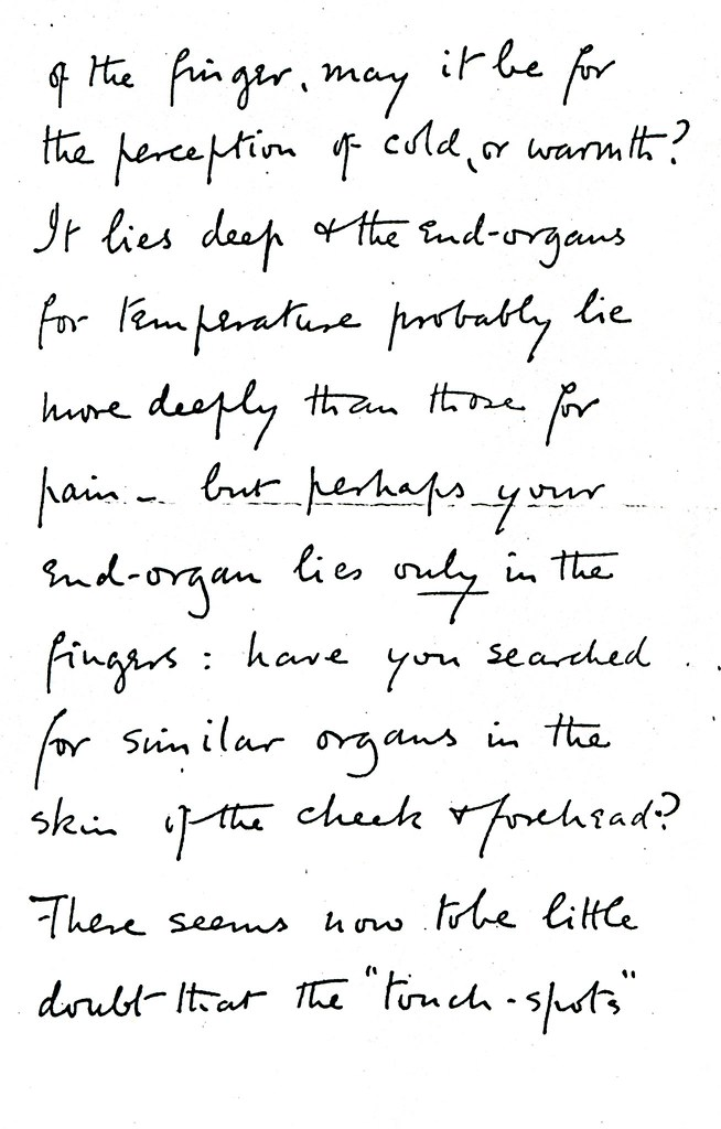 Sherrington to Ruffini - 9 January 1898 (WCG 48.5) 2/4