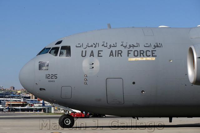 C-17 UAEAF (Al-Imarat al-'Arabiyya al-Muttahida)