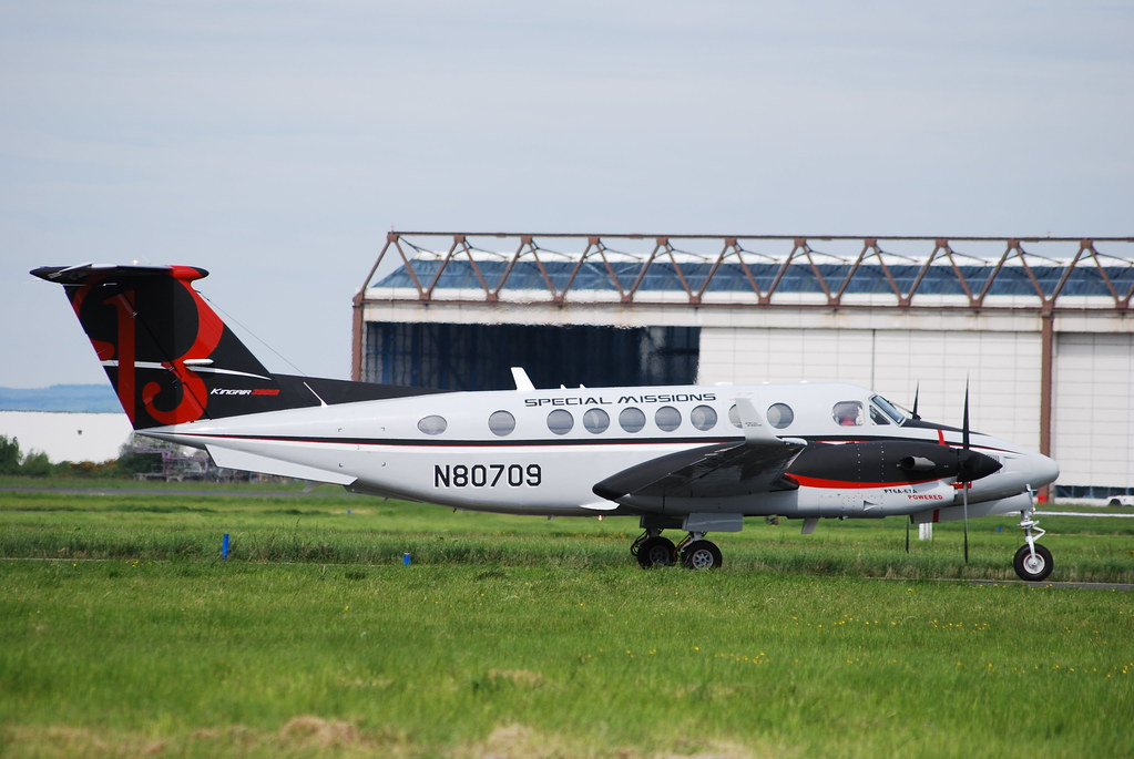 N80709 BE350ER Special Missions | Shannon 17/5/2014 | Dave