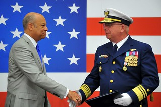 Coast Guard Vice Commandant Change of Watch Ceremony
