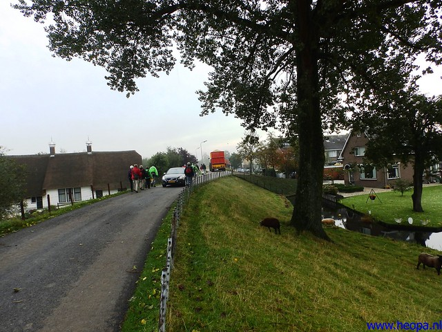 12-10-2013 Stolwijk  25.5 Km (42)