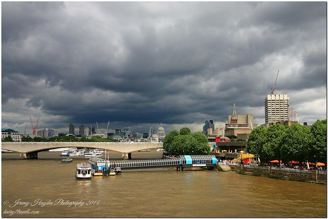 Stormy London - South Bank