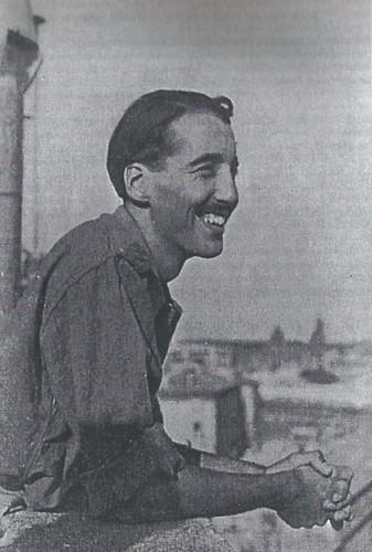 Cristopher Lee durante la Segunda Guerra Mundial