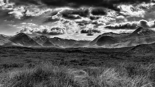 Rannoch Moor (mono and wide) | by Christopher Combe Photography