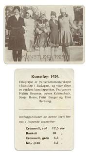 Verdensmesterkapet i Kunstløp (1929)