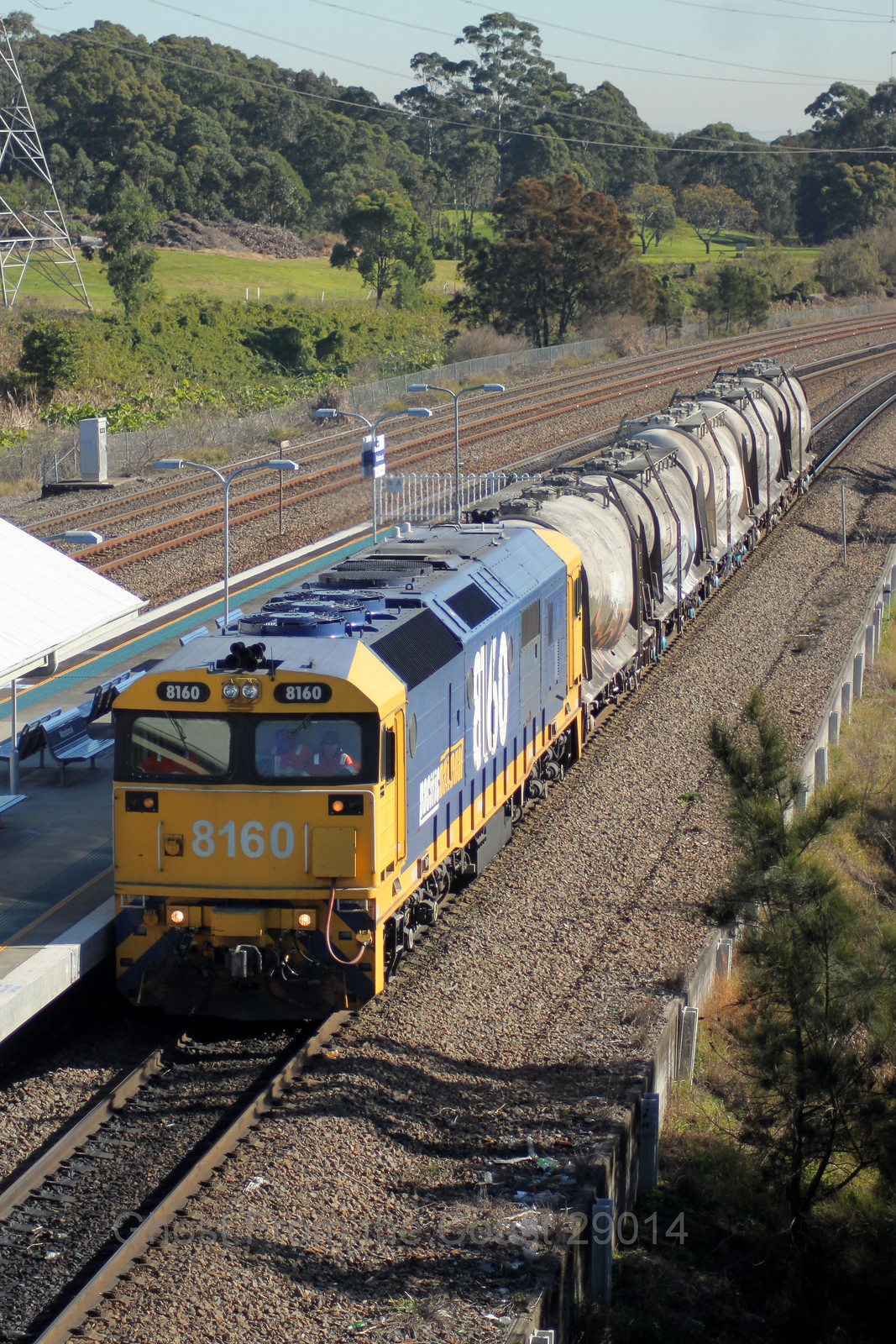 Kooragang Cement Trip Train by Scott S